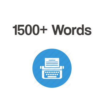 1500+ Words Article