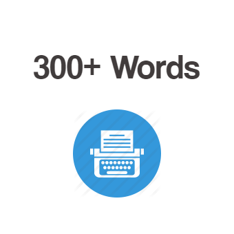 300+ Words Article