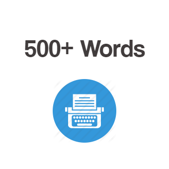 500+ Words Article