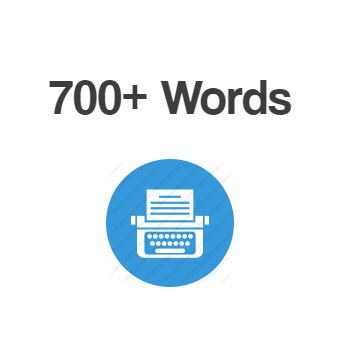 700+ Words Article