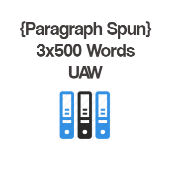 UAW 500+ Words Spun Article