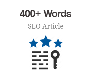 400+ Words SEO Article
